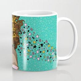 Black Girl Magic Teal Coffee Mug