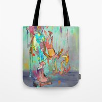 archan nair Tote Bags featuring Soulipsism by Archan Nair