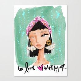 Selflove Canvas Print