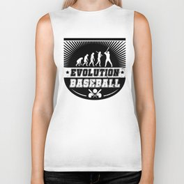 Evolution Baseball Biker Tank