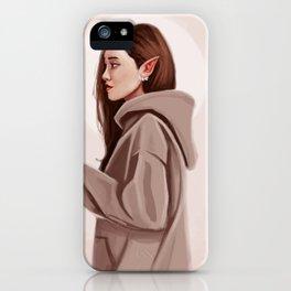 Elf Woman iPhone Case