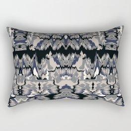 Ikat Glitch no. 1 Rectangular Pillow
