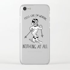 Stupid Sexy Flanders Clear iPhone Case