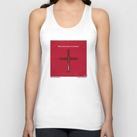 lawyer Tank Tops featuring No263 My DRACULA minimal movie poster by Chungkong