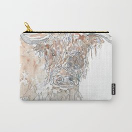 Hairy Highlander. Carry-All Pouch
