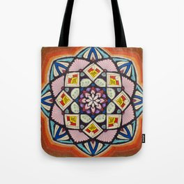 Fulfillment Mandala - מנדלה הגשמה Tote Bag