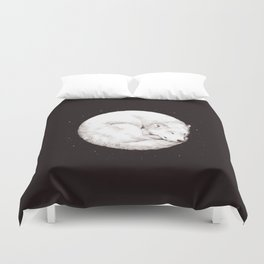 The Howl of the Moon Duvet Cover