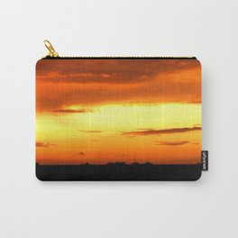 Sunset Over The Fields Carry-All Pouch