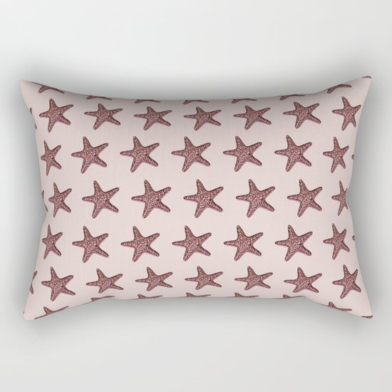 Starfish - Sea Star - Pattern #2 #decor #art #society6 Rectangular Pillow
