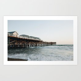 Mission Beach Art Print
