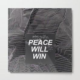 peace will win -- dark flowers -- dark grid -- twenty one pilots Metal Print