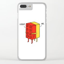 I'll Never Le Go Clear iPhone Case