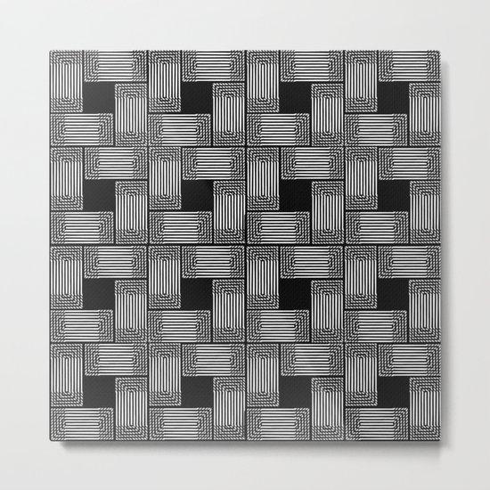 Xingu Pattern 2 Metal Print