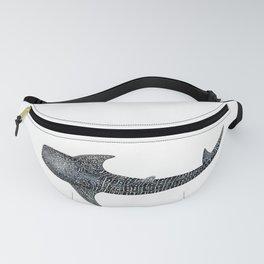 Whale shark Rhincodon typus Fanny Pack
