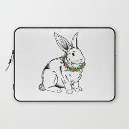flower Bunny Laptop Sleeve