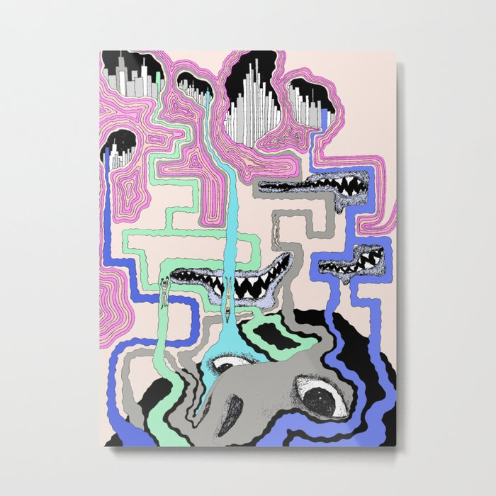 Strange Vision Metal Print