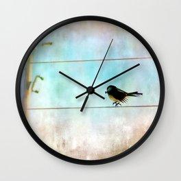 One Sunflower Seed Wall Clock