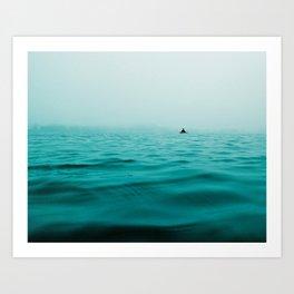 Photo of the sea Art Print