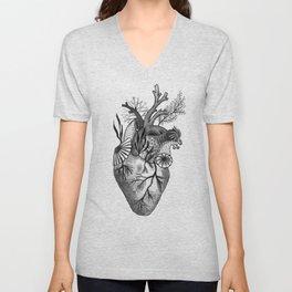 Mermaid Heart Unisex V-Neck