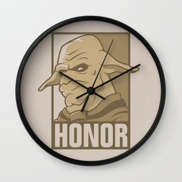 For the Honor Wall Clock