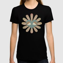 Hedge Hog Flower Power T-shirt