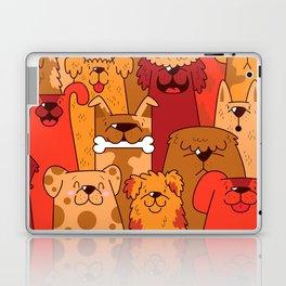 Pile of Woofs Laptop & iPad Skin