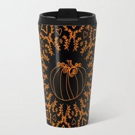 Mandala Project 240 | Fall Pumpkin Travel Mug