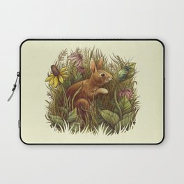 The Cottontail and the Katydid Laptop Sleeve