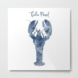 Lobster Tide Pool habitat Metal Print