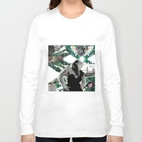 model Long Sleeve T-shirts featuring model by Juliana Polippo