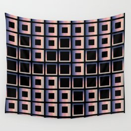Composition of squares Wall Tapestry