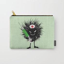 Evil Bug Nurse With Syringe Carry-All Pouch