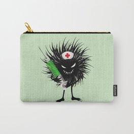 Evil Bug Nurse With Syringe Carry-All Pouch
