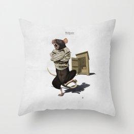 Shithouse Throw Pillow