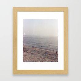8 PM Framed Art Print