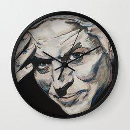 Might As Well Face It - Robert Palmer Portrait Wall Clock