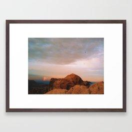 Red Rock Canyon Framed Art Print