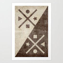 Geometric Exploration 2 Art Print