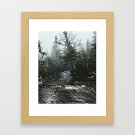 Mount Marcy Framed Art Print