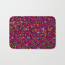 Colorful Rain 03 Bath Mat