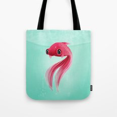 Little Fish Coy Koi Tote Bag