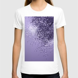 ULTRA VIOLET Glitter Dream #1 #shiny #decor #art #society6 T-shirt