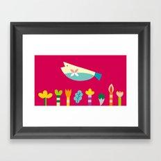 The Fish's Dream Framed Art Print