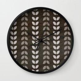 Farmhouse I Black Wall Clock