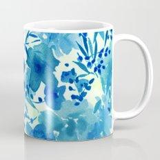 blue pretty flowers  https://society6.com/clemm?promo=X9B3VVZDM7J6 Mug