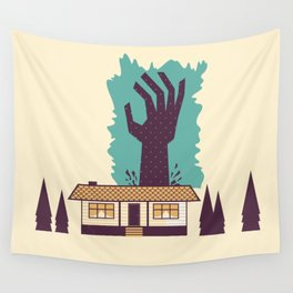 The Cabin in the Woods Wall Tapestry