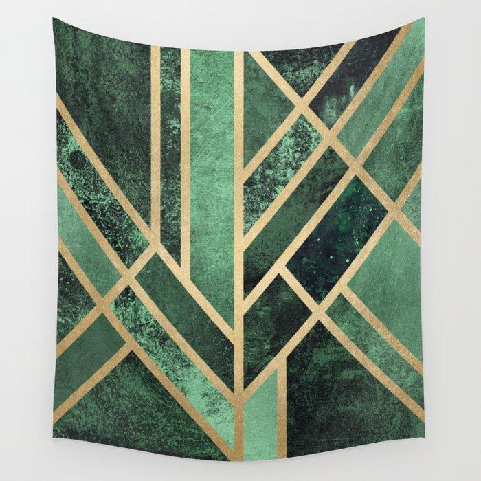 Art Deco Emerald