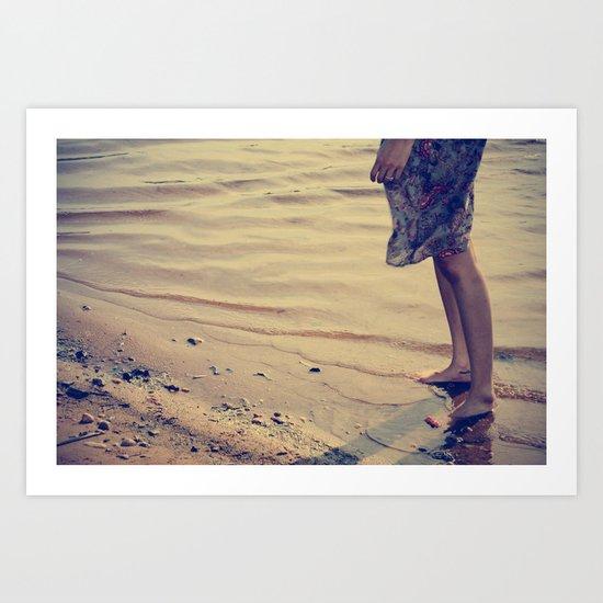 ocean & you Art Print