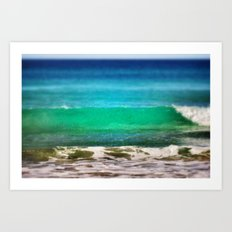 The ocean Art Print