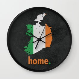 Ireland Proud Wall Clock